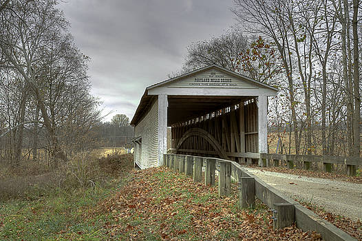 Jack R Perry - Portland Mills/Dooley Station covered bridge