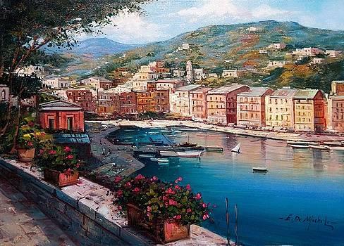 Portofino Italy by Ernesto Di Michele