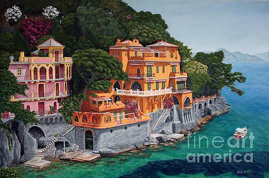 Portofino-italy by Sid Ball