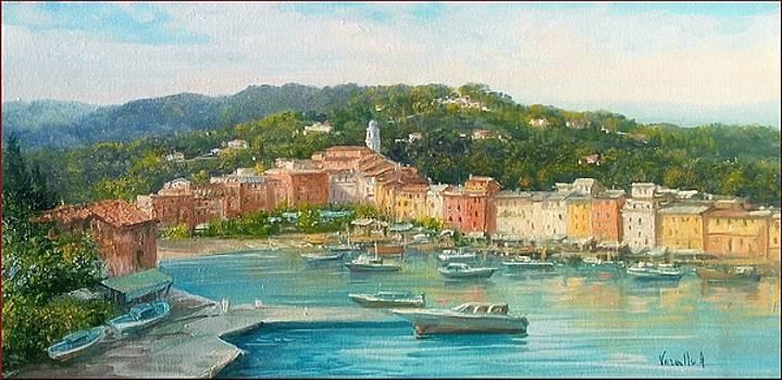 Portofino seascape - Italy by Antonietta Varallo