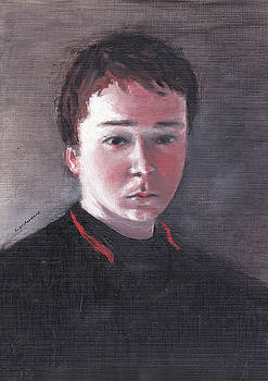 Portrait of an Altar Boy by Ramon DelRosario