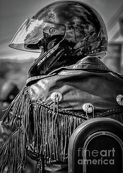 Portrait of a Biker by Kathleen K Parker