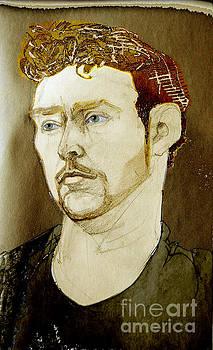 Portrait of a Flemish Young Man by Greta Corens
