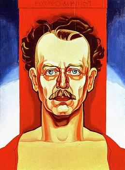 Portrait Of A Man by Oscar Bluemner