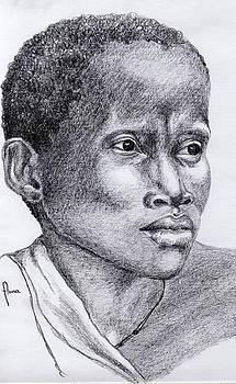 Portrait Of A Woman by Annemeet Hasidi- van der Leij