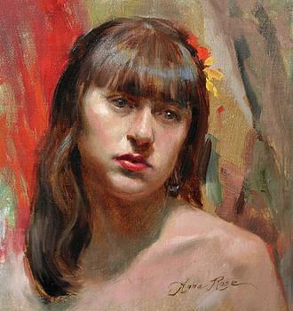 Portrait of Kat by Anna Rose Bain