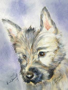 Portrait of Hunny by Renee Dumont  Museum Quality Oil Paintings  Dumont