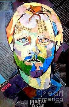 Portrait of Kurt by Helena Wierzbicki
