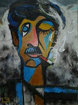 Portrait of men by Najmaddin Huseynov