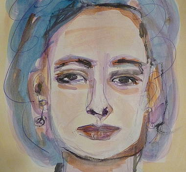 Portrait of Mother by Beth Sebring