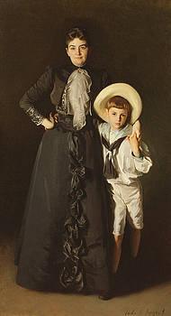 John Singer Sargent - Portrait of Mrs Edward L Davis and her Son, Livingston Davis, 1890