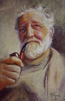 Portrait of Ray by Lynda Robinson