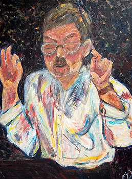 Portrait of the Conductor by Carolyn Donnell