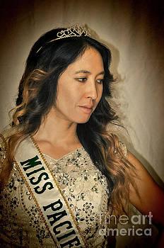 Portrait of the Gorgeous Miss Pacifica California Marissa Lai by Jim Fitzpatrick