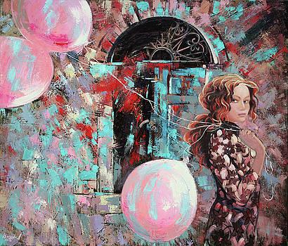 Portrait. Pink dreams by Anastasija Kraineva
