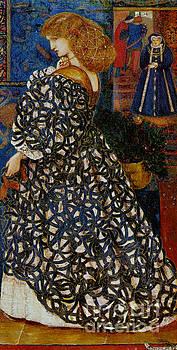 Portrait Sidonia von Bork 1860 by Padre Art