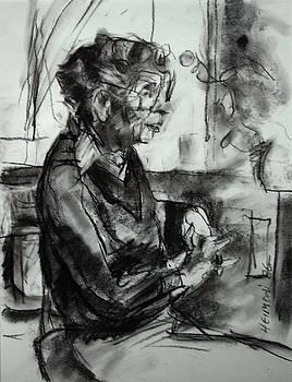 Portrait sketch of Euphemia McNaught by Tim  Heimdal