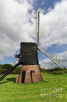 Post mill windmill by Steev Stamford