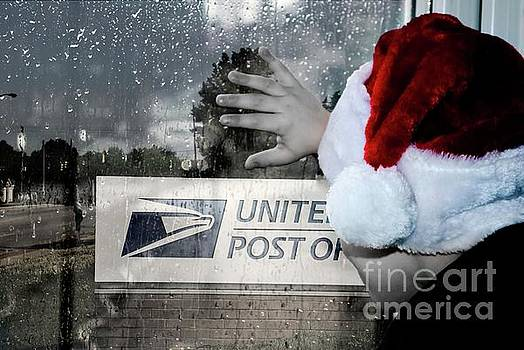 Post Office Santa by Bob Pardue