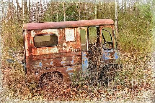 Postal Service Truck by Debbie Green