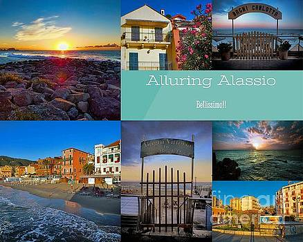 Postcard from Alassio by Karen Lewis