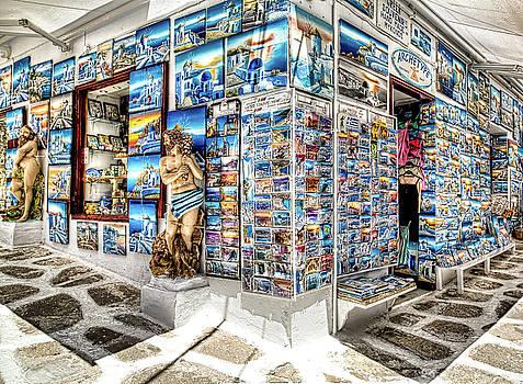 Postcards from Mykonos by John Hoey