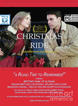 Christmas Ride Poster with Ratings by Karen Francis
