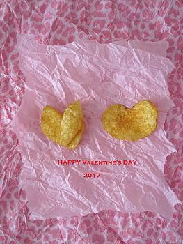 Potato Chip Valentine by MaryEllen Frazee
