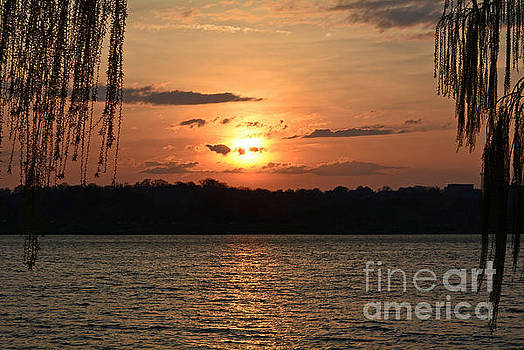 Potomac River Sunset In March by Emmy Marie Vickers