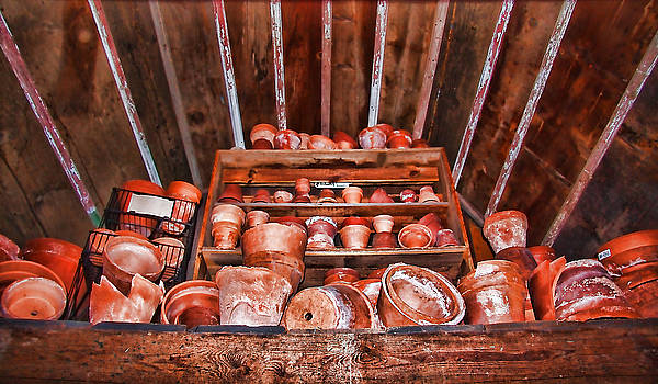 Pots In The Attic by Vicki McLead