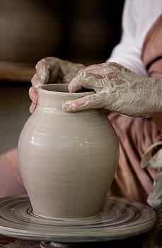 Potters Hands by Walt Stoneburner