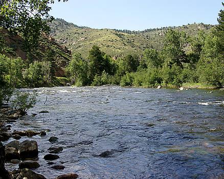 Poudre River, CO by D Winston