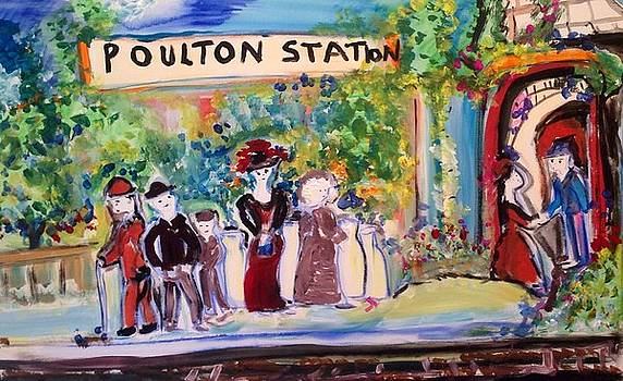 Poulton station  by Judith Desrosiers