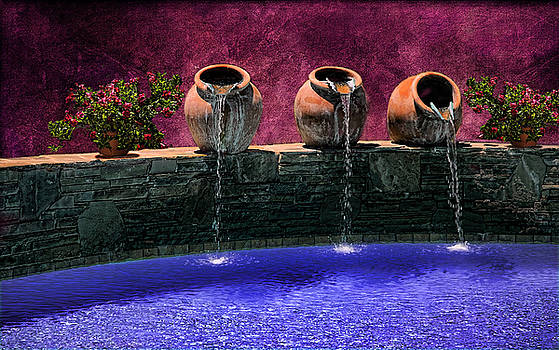 Pouring Waterpots by Alan Crosthwaite