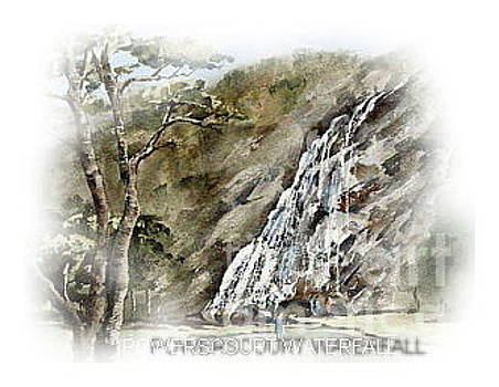 Powercourt Waterfall by Val Byrne
