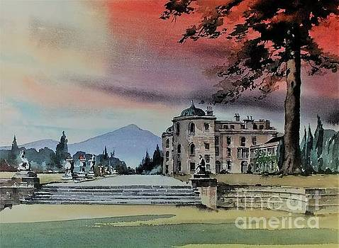 Powerscourt House Enniskerry by Val Byrne