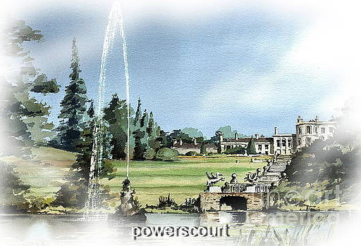 Powerscourt Fountain by Val Byrne