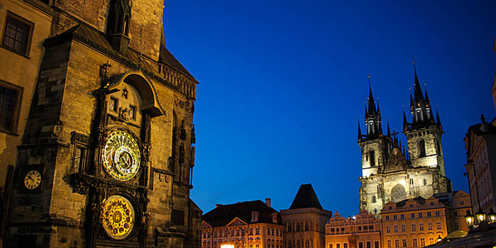 Prague Astronomical clock 02 by Vladimir Jovanovic