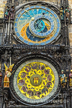 Prague Astronomical Clock by Luciano Mortula