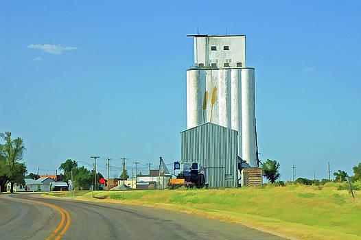 Prairie Elevator by Bill Morgenstern