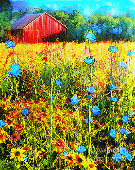 Prairie view by Gina Signore