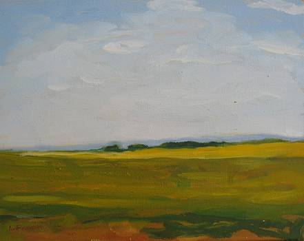 Prairies 1 by Liliane Fournier