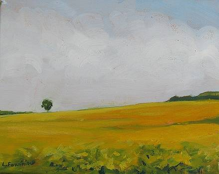 Prairies 4 by Liliane Fournier