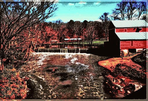 Praters Mill 001 art by George Bostian