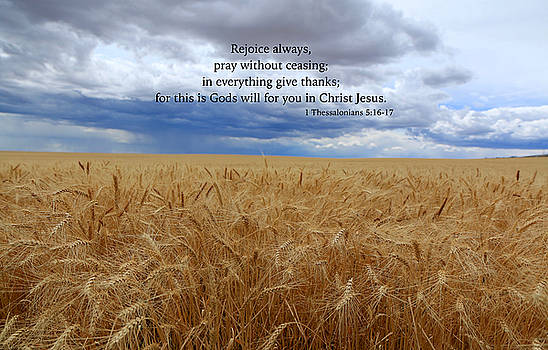 Pray without ceasing by Lynn Hopwood