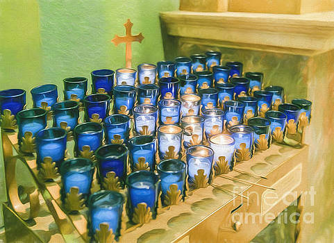 Prayer Candles by Ava Reaves