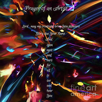 Prayer of an Artist 2 by Margie Chapman