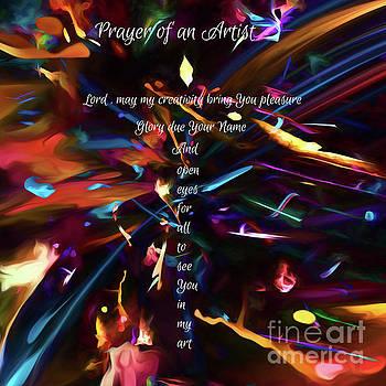 Prayer of an Artist by Margie Chapman