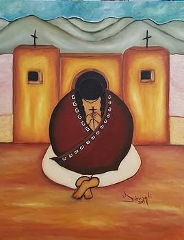 Prayer time by Yovannah Diovanti