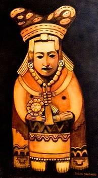 Pre Columbian God by Susan Santiago